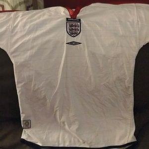 Umbro reversible England Soccer Jersey